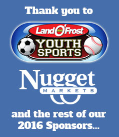 Thank you to Land O' Frost, Nugget Markets and the rest of our 2016 sponsors...