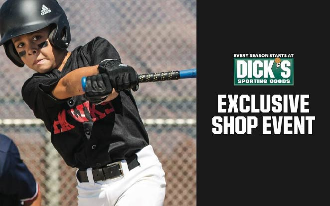 4aa8caa3e1a Dick's Sporting Goods Exclusive Shop Event for Pocket Little League This  Weekend!