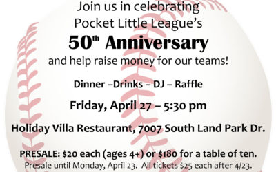 50th Anniversary Fundraising Dinner!