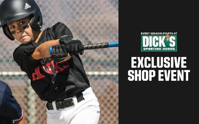 2/15/2020-2/17/2020: Exclusive PLL Dick's Sporting Goods Shop Event! 20% off!